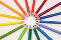 Free Artists  Colour Pencils Royalty Free Stock Image - 8254376