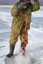 Free Winter Fishing 50 Stock Images - 8256914