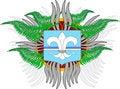 Free Emblem. Stock Image - 8259191