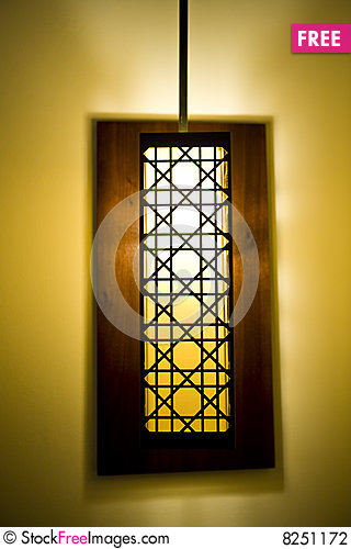 Free Decorative Lamp Shade Stock Photography - 8251172