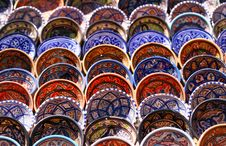 National Tunisian Ceramic Ware Royalty Free Stock Images
