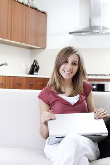 Free Comfortable Laptop User Stock Images - 8251074