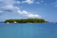 Free Boat In Bay Stock Image - 8251231