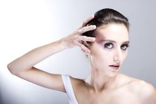 Free Attractive Young Lady Royalty Free Stock Photography - 8251597