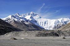 Free Snow Mountain Stock Photography - 8251622