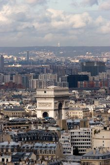Free Paris Landscacpe Royalty Free Stock Photography - 8251837