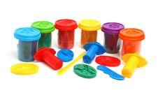 Free Colors Plasticine Stock Photo - 8252170
