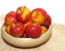 Free Basket Of Apples Royalty Free Stock Image - 8252626