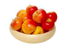 Free Basket Of Apples Royalty Free Stock Image - 8252716