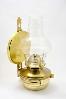 Free Old Petroleum Lamp Stock Photography - 8252722