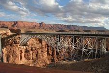 Navajo Bridge Stock Photography