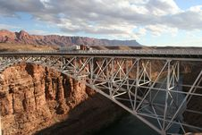 Free Navajo Bridge Stock Photo - 8253000