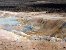 Free Volcano Krafla, Lava Field Stock Photography - 8253282