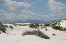 Free White Sands Royalty Free Stock Images - 8253369
