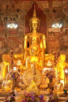 Free Buddha Images. Stock Images - 8253574