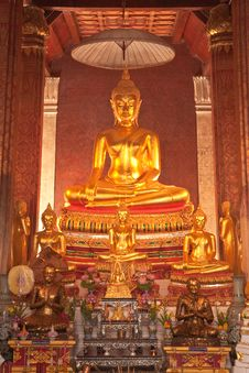 Buddha Images. Royalty Free Stock Images