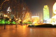 Free The Night View Of City Royalty Free Stock Image - 8253966