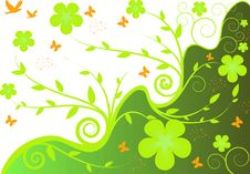 Free Floral Background Royalty Free Stock Photos - 8254248