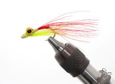 Free Fishing Fly In Holder Stock Photos - 8254253