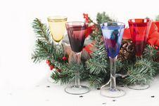 Free Christmas Toast Royalty Free Stock Photo - 8254405