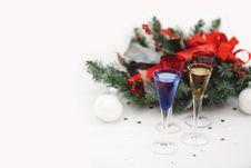 Free Christmas Toast Royalty Free Stock Photography - 8254407