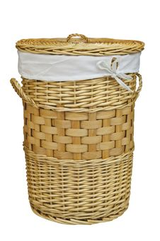 Free Laundry Basket Royalty Free Stock Photos - 8254688