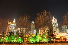 Free The Night View Of City Stock Image - 8254791