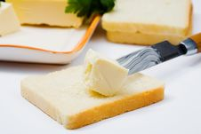 Free Bread And Butter Royalty Free Stock Photos - 8255128