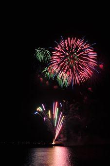 Free Fireworks Royalty Free Stock Image - 8255706