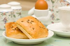 Free Breakfast On The Table Royalty Free Stock Photography - 8255717