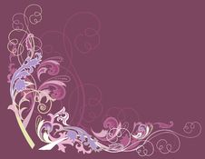 Free Abstract Design Floral Elements Royalty Free Stock Photo - 8256265