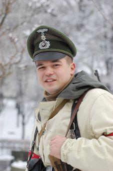 Free German Officer Of WW2 Stock Photos - 8256523