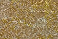 Free Golden Fabric Background Royalty Free Stock Photos - 8256878