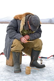 Free Winter Fishing 59 Stock Image - 8256921