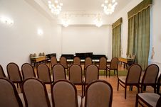Free Empty Small Concert Room Royalty Free Stock Photos - 8257058
