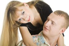 Free Young Couple In Love Stock Photography - 8257322