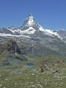 Free Matterhorn Royalty Free Stock Photo - 8257355