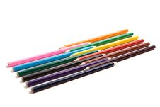 Free Multi Colour Pencils Royalty Free Stock Images - 8257359