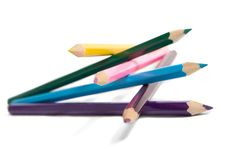 Free Multi Colour Pencils Stock Image - 8257431