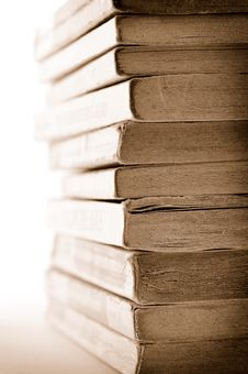 Free A Stack Of Old Books Stock Images - 8257924