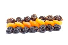 Free Composition From Dried Fruits. Royalty Free Stock Photos - 8258028