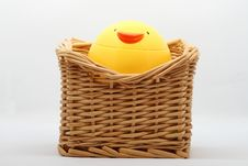 Chicken Cup And Cane Box Royalty Free Stock Image