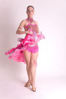 Free Professional Dancer In Motion Stock Photography - 8258402