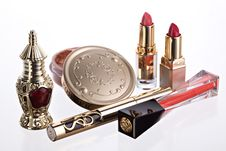 Free Still Life With Cosmetics Stock Images - 8258934