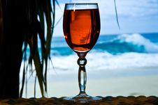Free Glass Of Wine Royalty Free Stock Photos - 8258938