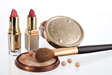 Free Still Life With Cosmetics Stock Photos - 8259173