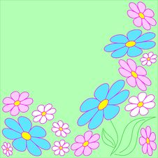 Free Floral Background Stock Image - 8259271