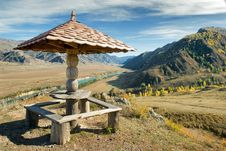 Free Arbour In Mountains Stock Photo - 8259560