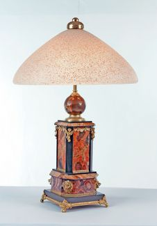 Ancient Vintage Lamp Royalty Free Stock Photo