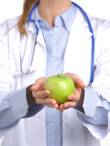 Free Apple A Day Keeps The Doctor Away Stock Photos - 8259763